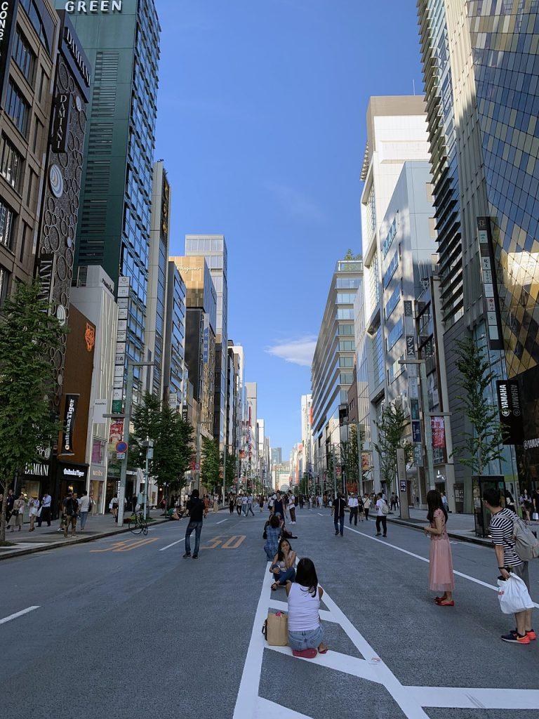 pasear por Ginza