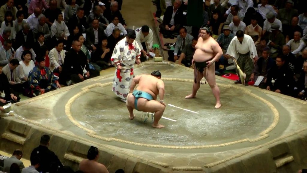 ver sumo en tokio