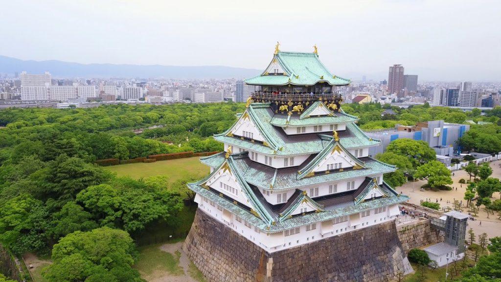 visitar castillo de Osaka