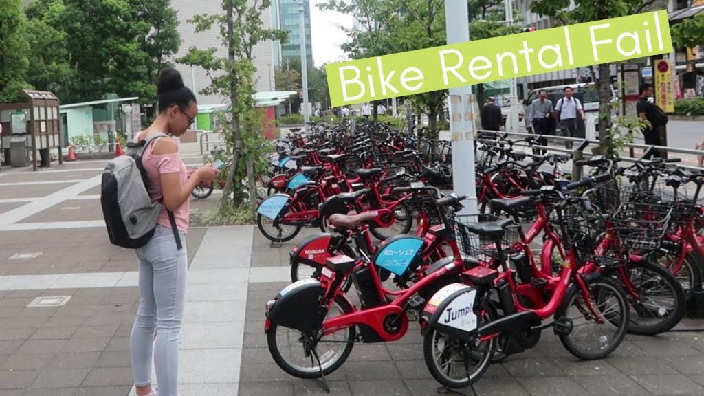 alquilar bicicleta en tokio