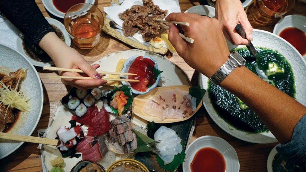 comida en tokio
