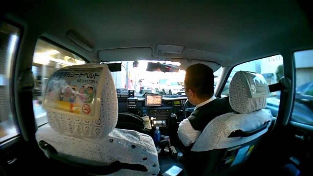 Coger un taxi en Tokio