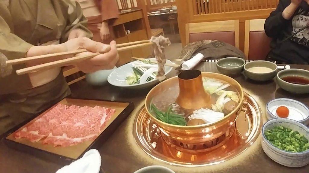comer Shabu Shabu en tokio