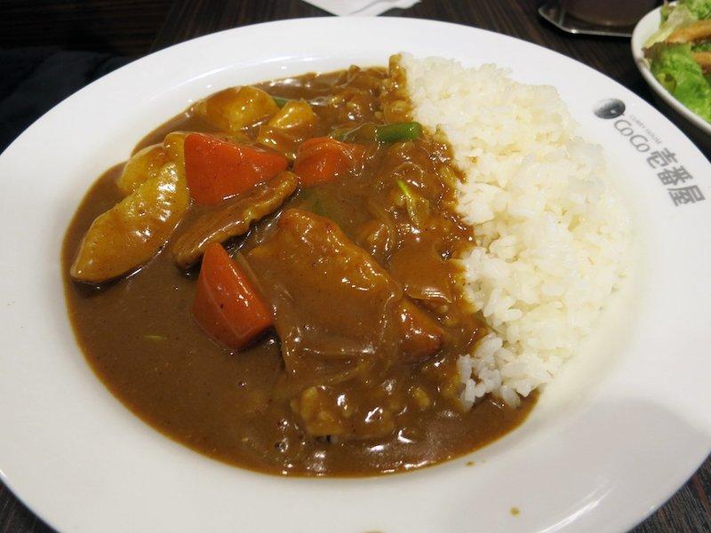 comer curry japones en tokio