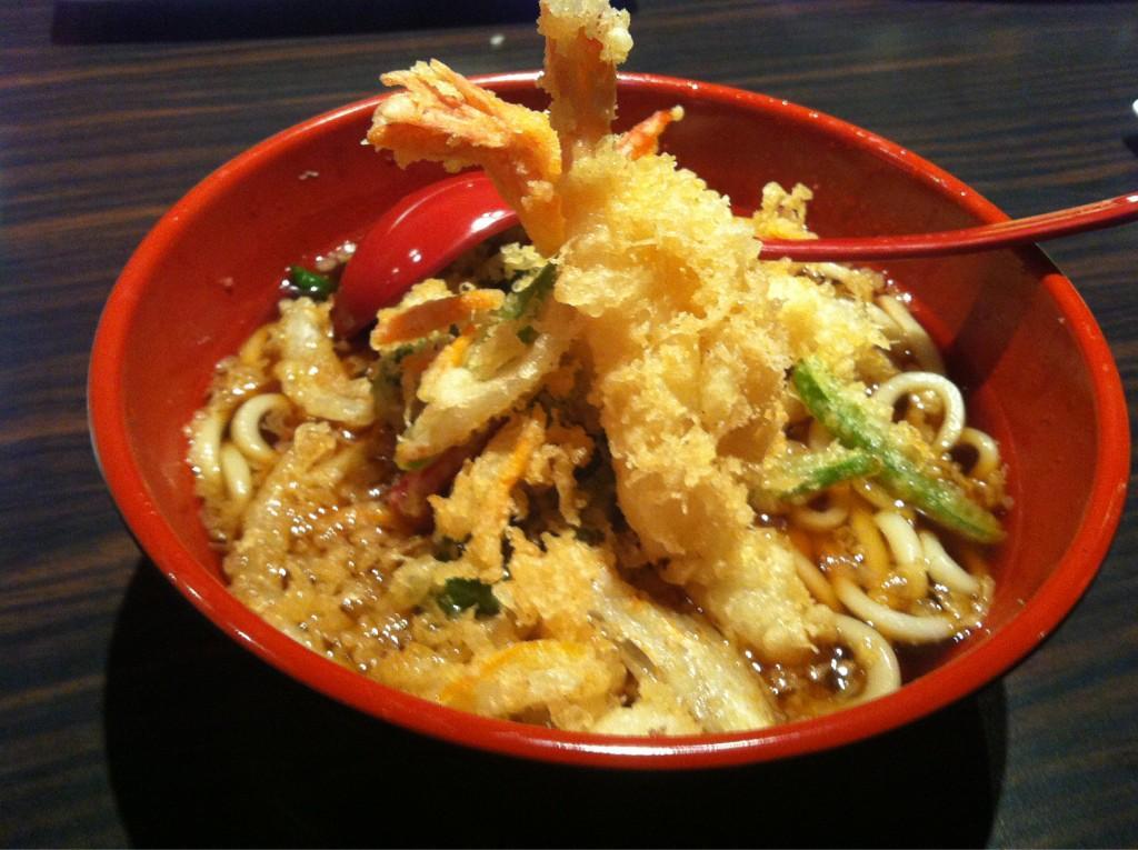 comer tempura en tokio
